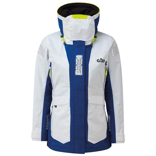 Gill os24 offshore dame jakke hvidblå str 14