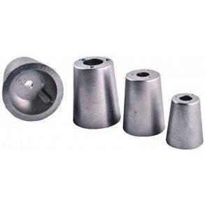 Zink og aluminiums anoder